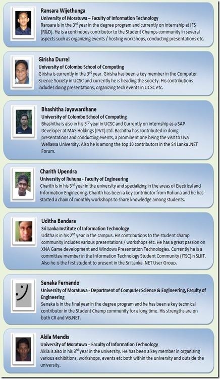 Microsoft student ambasiders
