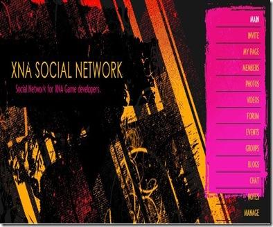 XNA social network