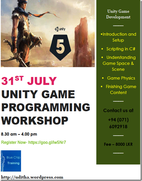 Unity Workshop