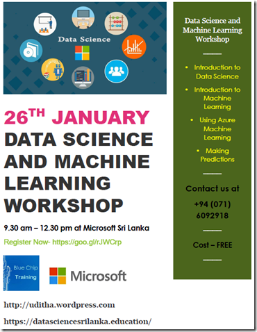 Data Science and Machine Learning course