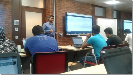 Machine Learning and AI Workshop at Microsoft Sri Lanka.