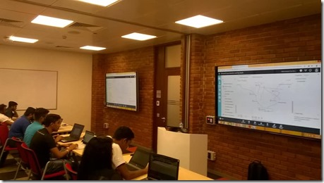 Machine Learning and AI Workshop at Microsoft Sri Lanka.