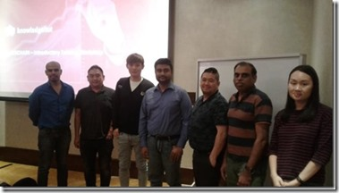 Ethereum and Hyperledger Blockchain Application Development Workshop at Singapore.