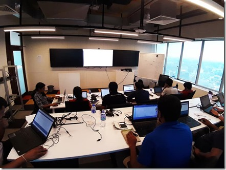AI , Data Science and Machine Learning Workshop at Microsoft Sri Lanka.2