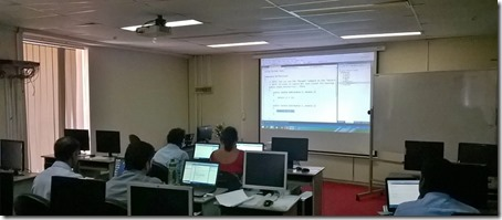 Windows Communication Foundation (WCF) training at Bank of Ceylon (BOC) 2