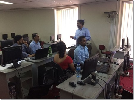 Windows Communication Foundation (WCF) training at Bank of Ceylon (BOC).