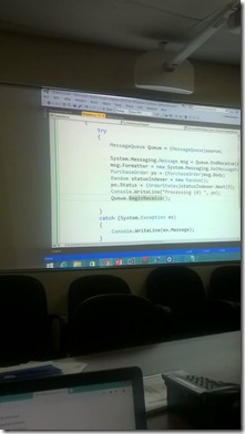 Windows Communication Foundation (WCF) training at Bank of Ceylon (BOC)4