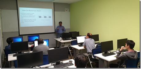 Blockchain Application Development Workshop at Singapore2