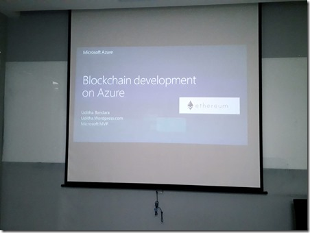 Blockchain Application Development Workshop at Singapore