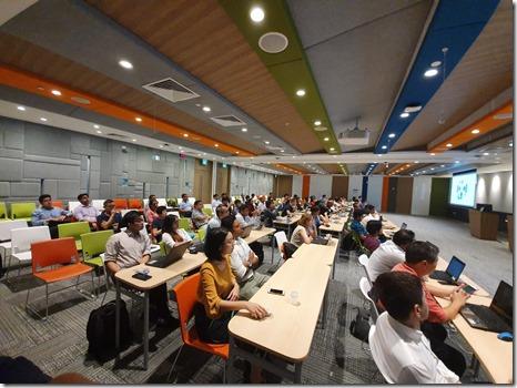 Machine Learning Workshop at Microsoft Singapore3