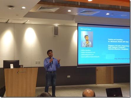 Machine Learning Workshop at Microsoft Singapore4