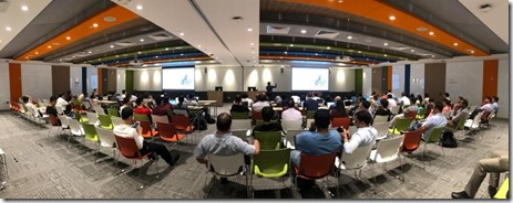 Machine Learning Workshop at Microsoft Singapore6