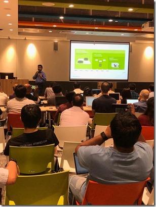 Machine Learning Workshop at Microsoft Singapore7