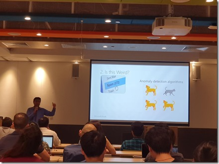 Machine Learning Workshop at Microsoft Singapore