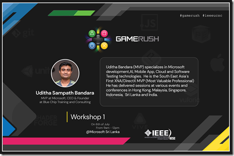 Unity Game Development Workshop Sri Lanka6