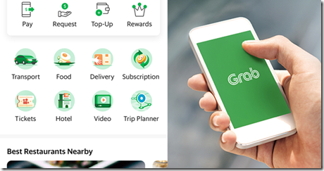 Grab Mobile Application Development