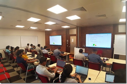 AI , Data Science and Machine Learning Workshop at Microsoft Sri Lanka.7