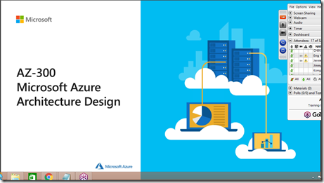 Azure Architect Technologies (AZ-300) Online Singapore Training.